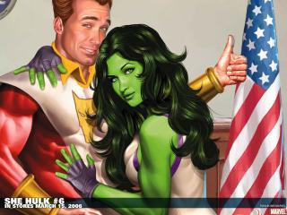 обои She hulk in march фото