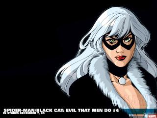 обои Spider man black cat evil that men do фото