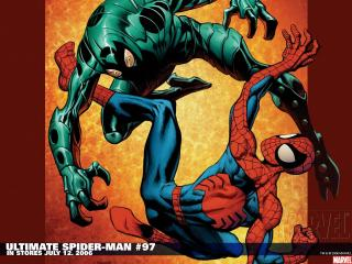 обои Ultimate spider man in july фото