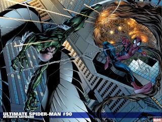 обои Ultimate spider man interior artwork фото