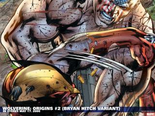 обои Wolverine origins bryan hitch variant фото