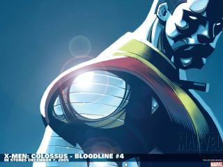 обои X-men colossus bloodline in december фото