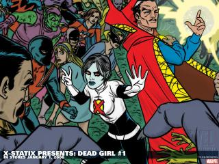 обои X-statix presents dead girl фото
