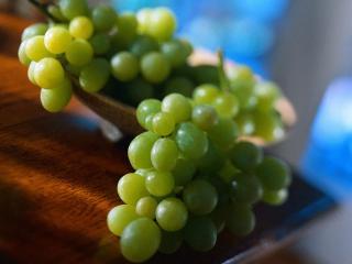 обои Зеленый виноград фото