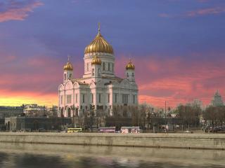 обои Храм Христа Спасителя, Москва, Россия фото