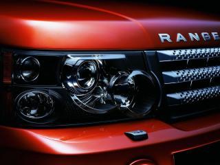 обои Range Rover решетка радиатора и фара фото