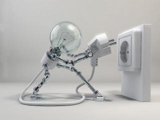 обои Робот лампочка фото