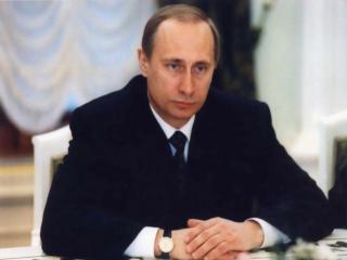 обои Владимир Путин президент фото