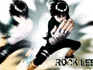обои Rock Lee in abstraction фото