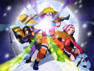 обои Uzumaki Naruto magic фото