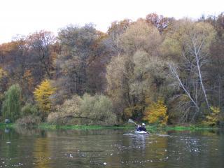 обои Путешествие в байдарке по реке Лопань фото