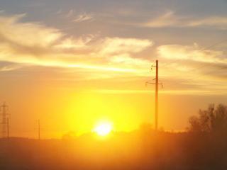 обои Солнышко просыпается фото