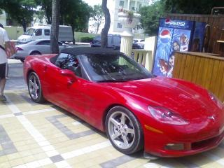 обои Chevrolet Corvette red фото