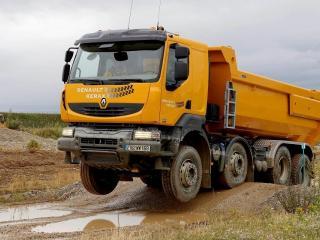 обои Renault Kerax dump фото
