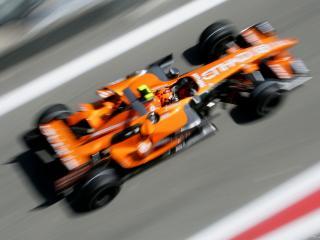 обои Formula 1  в движении фото