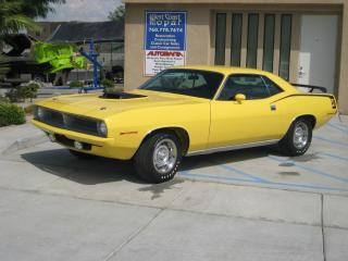 обои Plymouth Yellow color фото