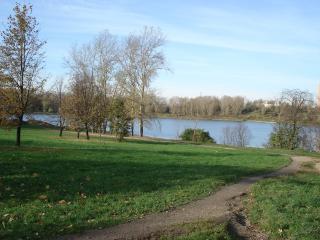 обои Борисовский пруд осенью фото