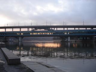 обои для рабочего стола: Москва река