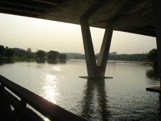 обои Под мостом фото