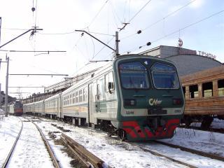 обои Электропоезд ed4m-0065 фото