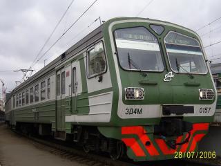 обои Электропоезд ED4M-0157 фото