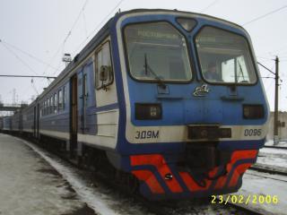 обои Электропоезд ED9M-0096 фото