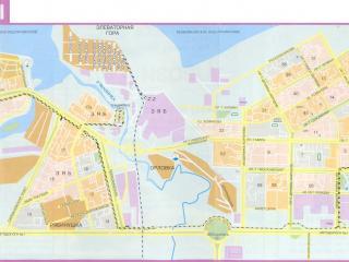 обои Карта г. Набережные Челны фото