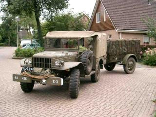 обои Dodge WC 52 1942 фото