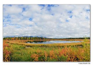 обои Осень в Заполярье фото