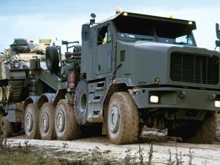 обои Армейский тягач Oshkosh фото