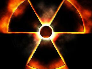 обои Символ радиации фото