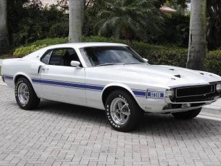 обои Shelby Mustang GT350 1969 фото