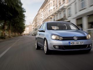 обои Volkswagen Golf VI фото