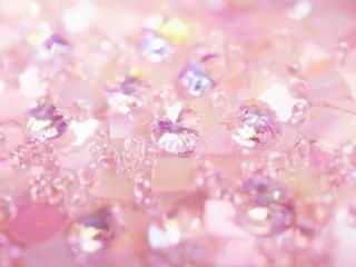 обои Розовые бусины фото