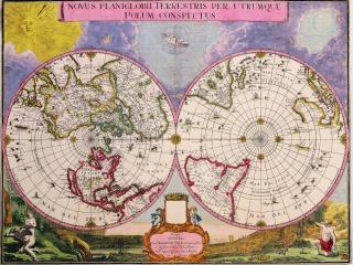 обои Старая карта фото