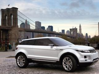обои для рабочего стола: Land Rover-LRX