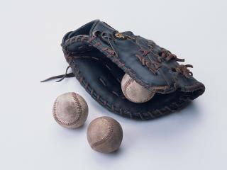 обои Бейсбольная перчатка фото