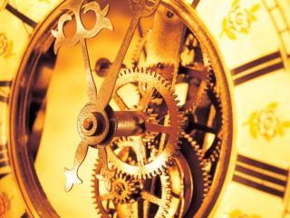 обои Часовой механизм фото
