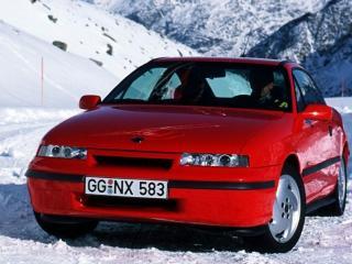 обои Opel Calibra Turbo red фото