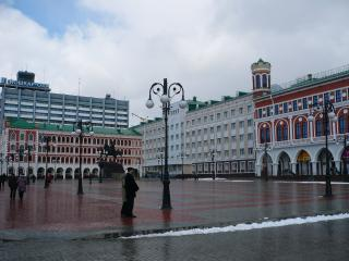 обои Площадь и дома фото
