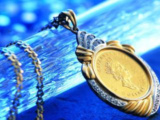 обои Медаль английской королевы фото