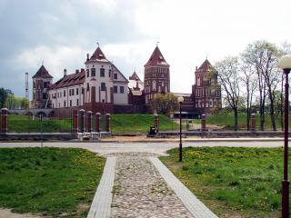 обои Замок в Белоруссии фото
