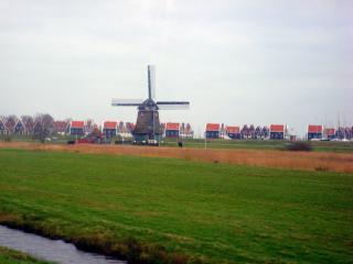 обои Мельница в Амстердаме фото