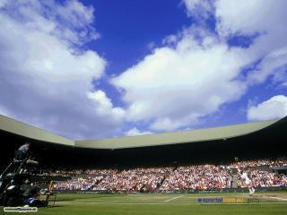 обои Теннисный корт фото