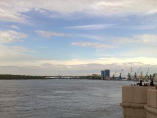 обои Река Волга, город Астрахань фото