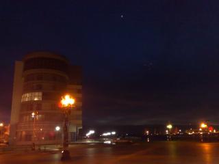 обои Ночное небо над Астраханью фото