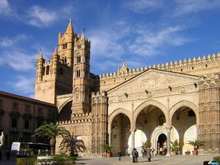 обои Барселона замок фото