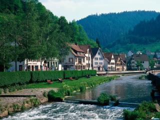 обои Германия парк культуры фото