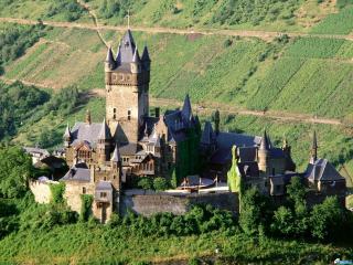 обои Германия  замок с высоты фото