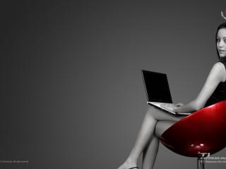 обои Ноутбук LG фото